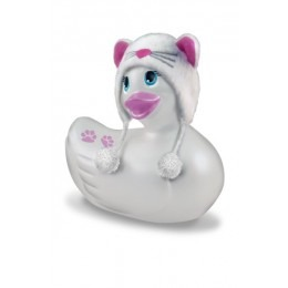 I Rub My Duckie Massager Vibrator Meow - White