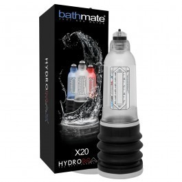 Bathmate Hydromax X20 Hydrotherapy Penis Pump - Clear