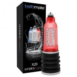 Bathmate Hydromax X20 Hydrotherapy Penis Pump - Red