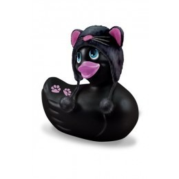 I Rub My Duckie Massager Vibrator Meow - Black