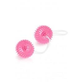 Vibro Tone Soft Duo Ben Wa Balls - Pink