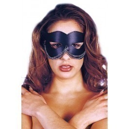 Sharon Sloane Cat Eye Mask - Black
