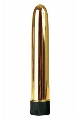 Slim-Line Gold Vibrator