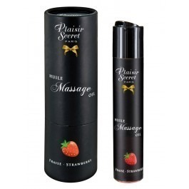 Pheromone Enhanced Edible Massage Oil Strawberry 50ml