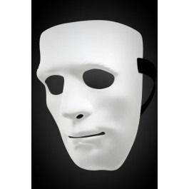 Don Juan Venetian Mask - White