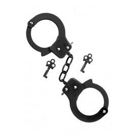Metal Handcuffs - Black