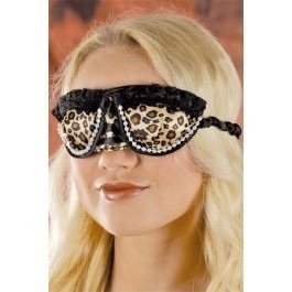 Leopard Print Sexy Blindfold Mask