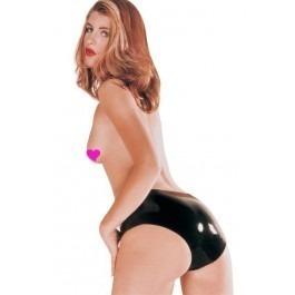 Sharon Sloane Black Latex Panties