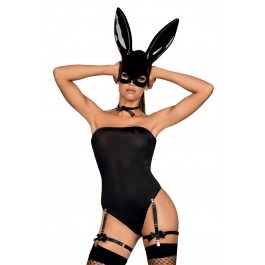 Obsessive Bunny Mask Costume Set