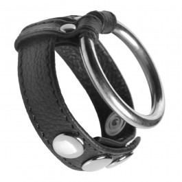 Strict Leather Cock & Ball Metal Ring