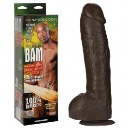 Doc Johnson Bam Huge Realistic Dildo 13 Inch