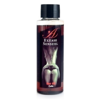 Pheromone Enhanced Warming Massage Oil Cola Flavoured 100ml