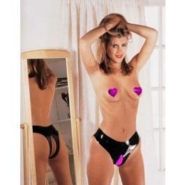 Sharon Sloane Latex Rubber Crotchless Panties Fetish