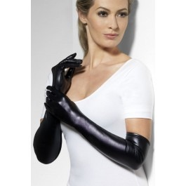 Fever Wet Look gloves