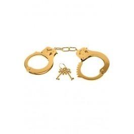 Fetish Fantasy Gold Metal Handcuffs