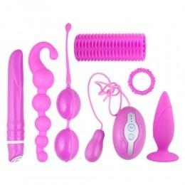 Vibe Therapy Aphrodisy Vibrator & Anal Plug Couples Kit