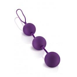 Triplex Ben Wa Trio Balls - Purple