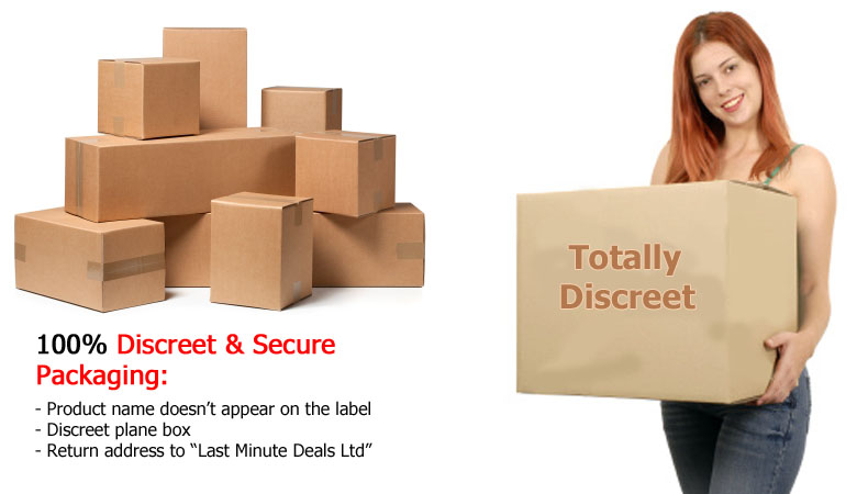 100% Discreet delivery