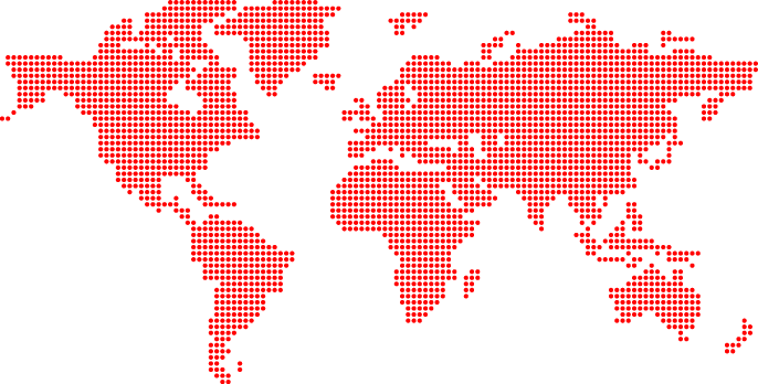 international delivery map