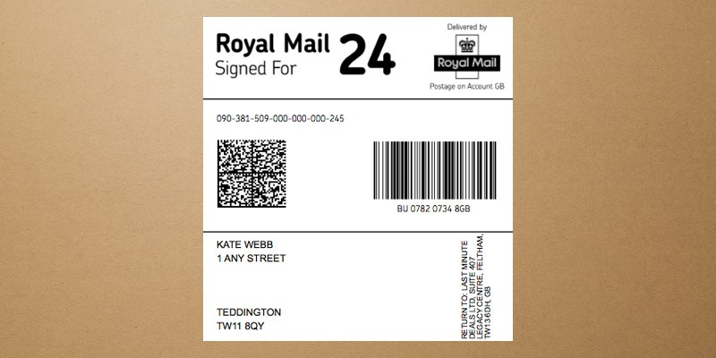 Discreet envelope